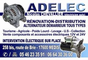 Adelec rénovation-distribution alternateurs et démarreurs tous types